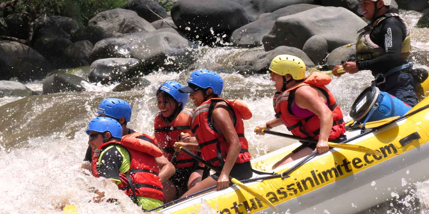 mexico vacation tours guided rafting whitewater